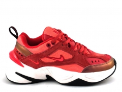 Nike M2K Tekno Red Suede