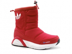 Дутики Adidas Originals Red (с мехом)