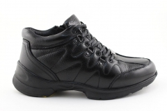 Ecco Biom Black Leather (с мехом)