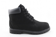 Timberland 6-inch Dark Grey (с мехом)
