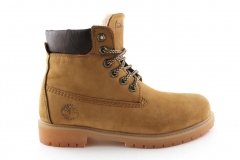 Timberland 6-inch Wheat (с мехом) 4
