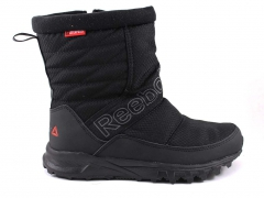 Дутики Reebok Waterproof All Black (с мехом)