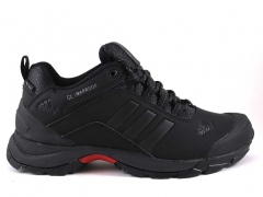 Adidas Climaproof  Low Black/Red (натур. мех)