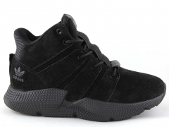 Adidas Prophere All Black (с мехом)