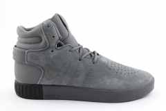 Adidas Tubular Invader Grey (с мехом)