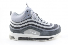 Nike Air Max 97 Mid Grey/Blue (с мехом)