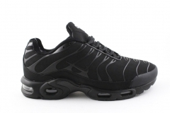 Nike Air Max Plus TN Black (с мехом) 2