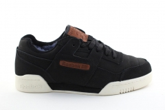 Reebok Classic Workout Plus Black/Brown (с мехом)