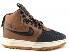 Nike Lunar Force 1 Duckboot '17 Brown/Black (натур. мех)