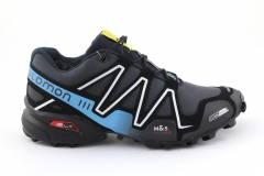 Salomon Speedcross 3 Navy/Blue (с мехом)