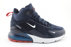 Nike Air Max 270 Mid Navy/Red/White (с мехом)