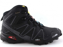 Salomon Speedcross 3 CS Mid Black/Grey (натур мех.)