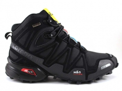 Salomon Speedcross 3 CS Mid Black (с мехом)