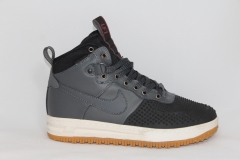 Nike Lunar Force 1 Duckboot Grey (с мехом)