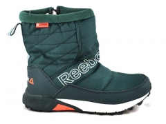 Дутики Reebok Waterproof Green R19 (с мехом)
