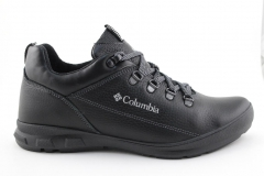 Полуботинки Columbia Leather Shoe Black (с мехом)