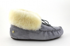 UGG Alena Slipper Grey (с мехом)