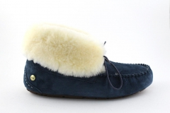 UGG Alena Slipper Navy (с мехом)