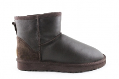 Полусапоги UGG Classic Mini Brown (с мехом)
