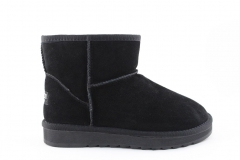 Угги Snowboots Mini Black (с мехом)
