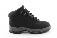 Nike Lunarridge Black/Grey (с мехом)