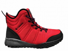Columbia Waterproof High Red (с мехом)