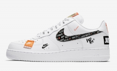 "Nike Air Force 1 Low ""Just Do It"" White"