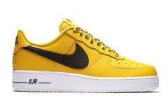 "Nike Air Force 1 Low ""Statement Game"" Yellow/Black"
