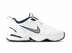 Nike Air Monarch White/Silver