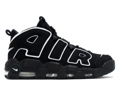 Nike Air More Uptempo Black & White