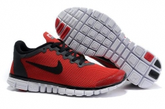 Nike Free Run 3.0 V2 red/black