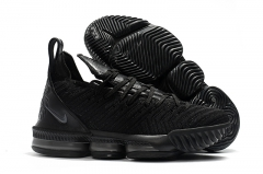 Nike LeBron 16 Triple Black