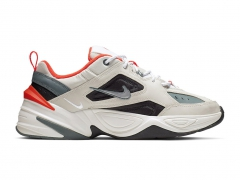 Nike M2K Tekno Light Bone/Turf Orange