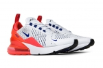 Nike Air Max 270 White/Ultramarine/Solar Red