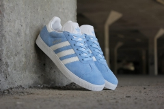 Adidas Gazelle Blue/White