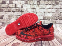Nike Air Max 2016 red flower