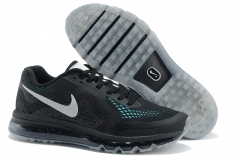 Nike Air Max 2014 black/green